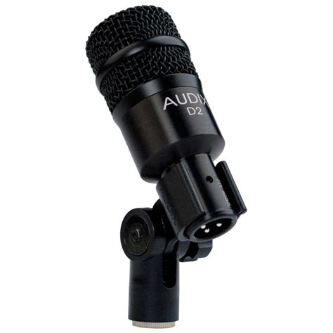 Icon D2 Dynamic Microphone audix d2 high gain percussion dynamic microphone at gear4music