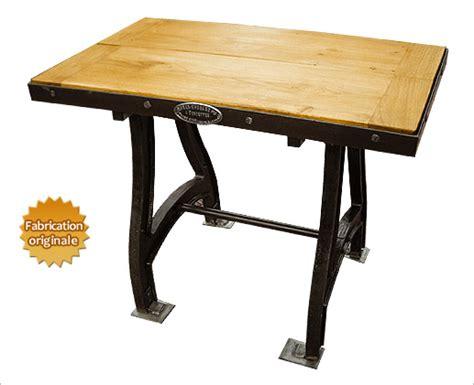 table en fonte table design industriel