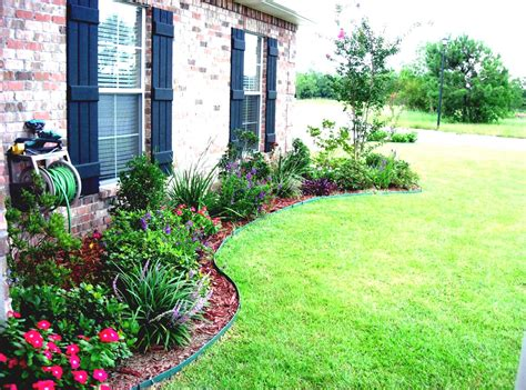 Colorful Simple Landscaping Flowers For Small Front Yard Landscaping Ideas For A Small Backyard