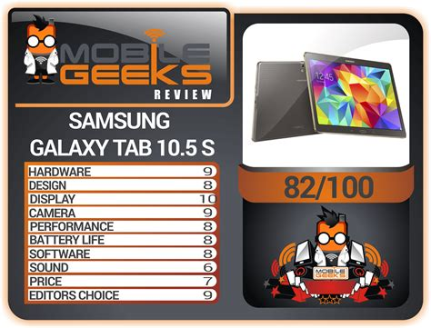 Samsung Tab 10 5 samsung galaxy tab 10 5 s the review mobile geeks