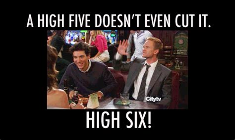High Five Meme - high five how i met your mother tumblr