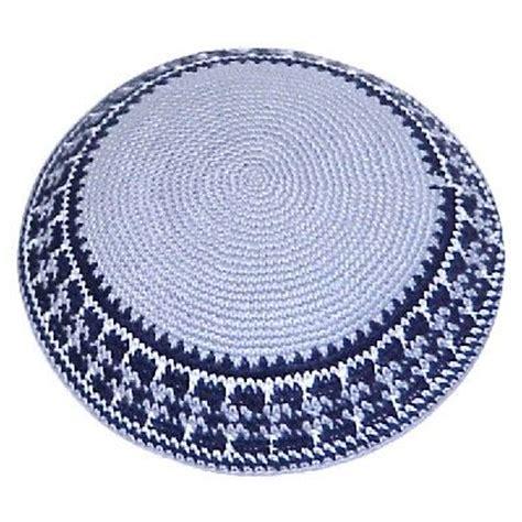 fabric yarmulke pattern 9 best crochet kippah images on pinterest knit crochet