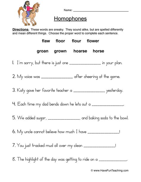 printable homophone quiz homophone quiz for third grade homonym worksheets for