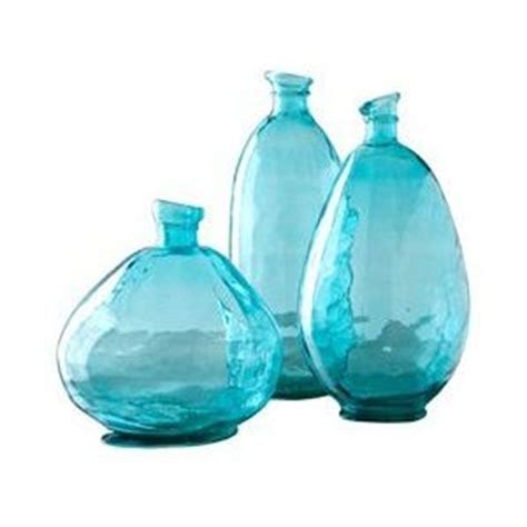 How To Color Glass Vases by Chelsea Vases Recycled Glass Vases Blue Colored Glass