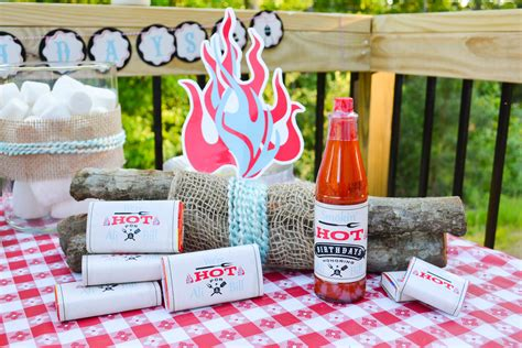 hot party themes for adults ruff draft smokin hot bbq birthday party anders ruff
