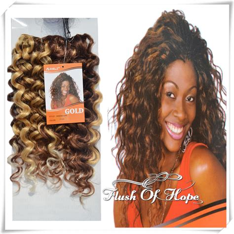 noble hair extensions premium quality noble gold curl synthetic hair