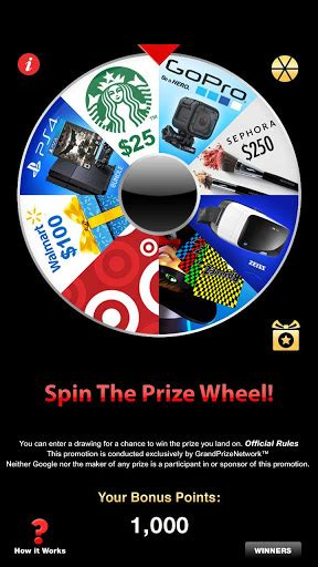 prize wheel apk 5 0 0 free entertainment app for android apk4fun