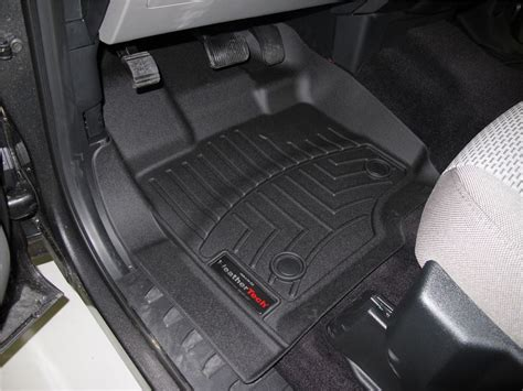 2017 ford f 150 weathertech front auto floor mats black