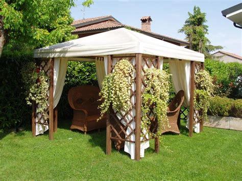 gazebo fisso da giardino gazebo anche in inverno idee tende da sole