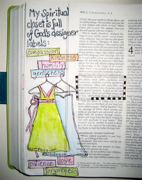 bible journaling god s designer label from the word