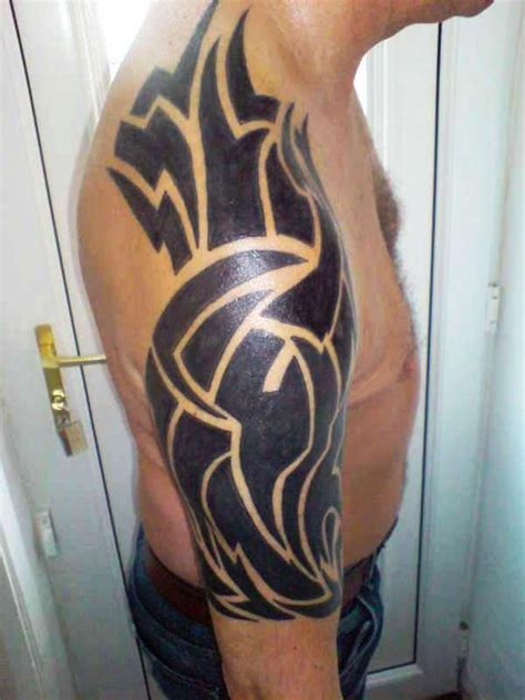 Tribal Tattooing Black And Bold Bold Tribal Forearm