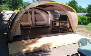 toile de tente 2 chambres cing auvergne besse location toile de tente