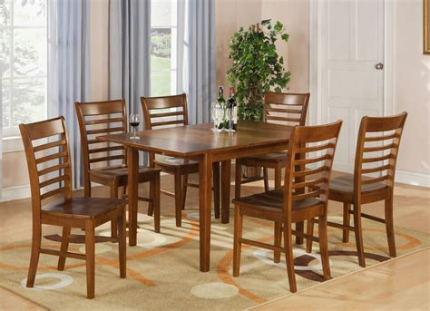 rectangular kitchen table sets rectangular dinette kitchen dining table 36 quot x54 quot with 12 quot leaf in brown ebay