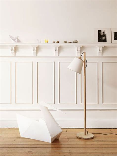 Wainscoting Shelf by Paneling With Shelf Above For The Home
