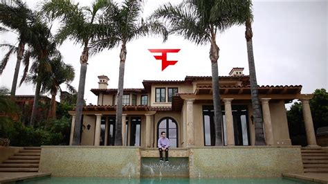 faze house i visited faze house la youtube