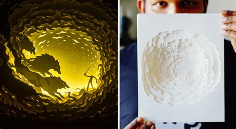 paper cut light box template fairytales come to life in papercut light boxes by hari