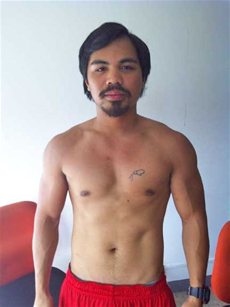 tattoo on pacquiao s chest it s manny pacquiao right sports gma news online