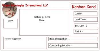 Kanban Card Template by Kanban Card Templates