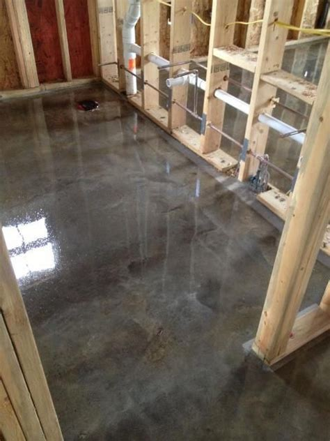 Grey Stained Concrete Floors, Photos of ideas in 2018