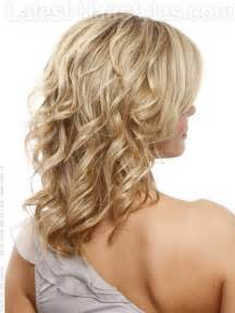 Blonde layers with curls 2 how to style 1 break out your 1u201d