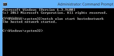 menjadikan laptop sebagai hotspot dengan cmd command prompt cara menjadikan laptop sebagai wi fi hotspot di windows 8