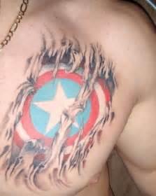 35 captain america tattoo designs for men and women