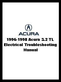1996 acura 3 2 tl repair shop manual original supplement 3 2tl service book ebay 1996 1998 acura 3 2 tl electrical troubleshooting manual