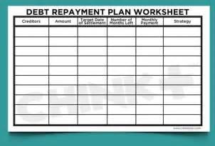 get out of debt budget worksheet davezan