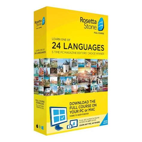 rosetta stone yearly subscription rosetta stone full course online subscription with