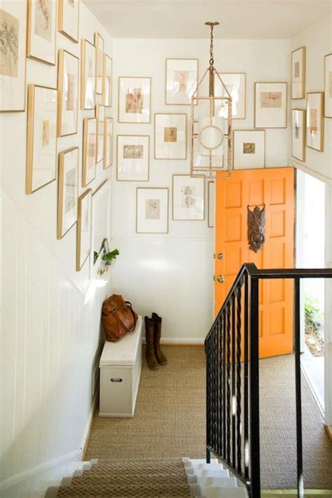 front entrance foyer orange front door transitional entrance foyer lauren