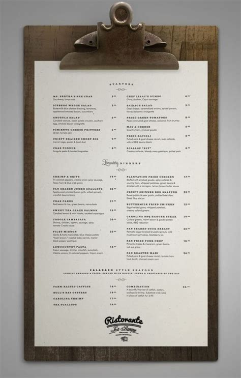 design my menu my new restaurant menu art designe pinterest