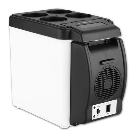 mini car cooler and warmer 6l 12v portable mini car fridge cooler warmer small