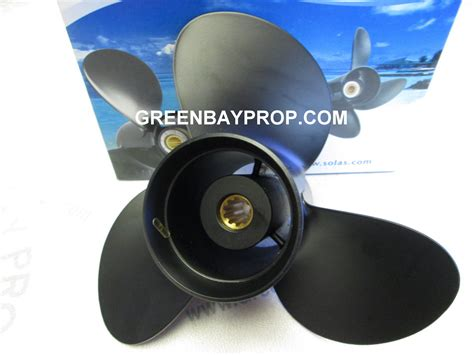 Suzuki Outboard Propellers 11 X 9 Pitch Prop For 20 30 Hp Suzuki Outboards Green