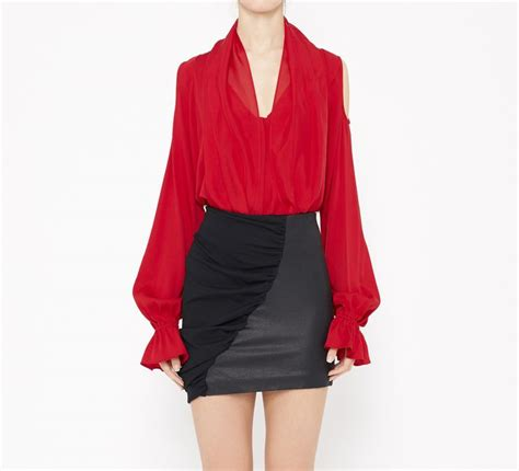 red blouse for christmas silk blouses