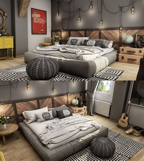 Gray Bedroom Design Gray Bedroom Interior Design Ideas