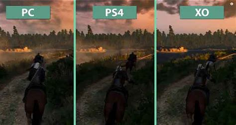 witcher 3 console the witcher 3 hunt le pc a t il l avantage aux
