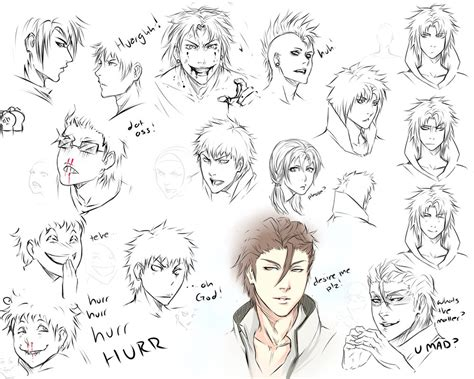 drawing hairstyles pdf drawing expressions by moni158 on deviantart