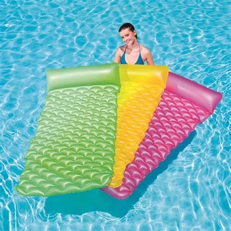 Mattress In Pool by Bestway 84 Quot X34 Quot Float N Roll Swimming Pool Air