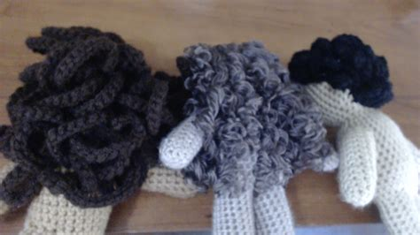 pictures of wool hair curly hair yarn doll hair tutorial 3 different styles doovi
