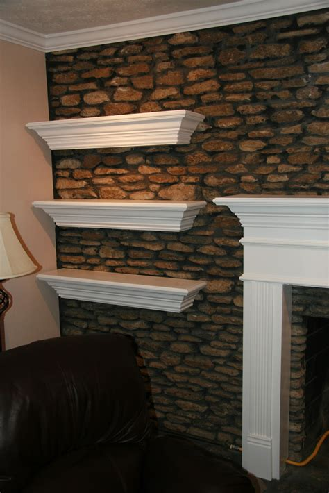 Floating Fireplace Mantel Shelf by Hydes Remodeling Specialist And Handyman Fireplace Mantel Floating Shelves