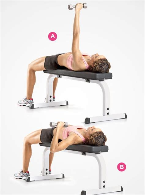 flat bench dumbbell chest press for your chest single arm dumbbell bench press how to do