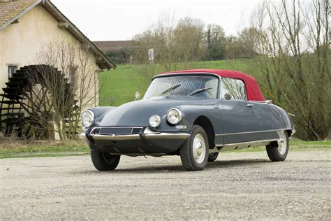 Citroen Ds Cabriolet by Citroen Ds Cabriolet Ivanoff Classic Racing Annonces