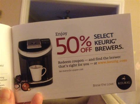 coupon code keurig coffee makers