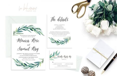 printable wedding invitation suites printable wedding invitation suite wedding invite set