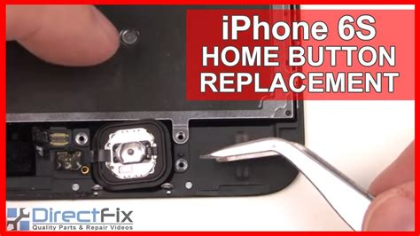 iphone 6s home button replacement done in 2 minutes
