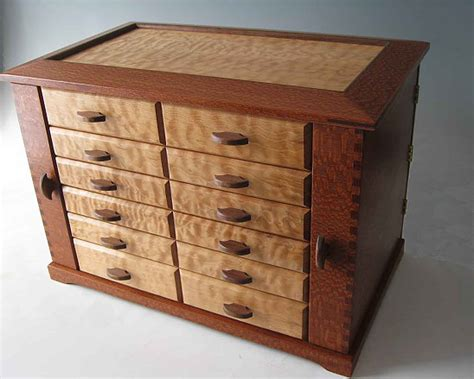 Handmade Wooden Chest - handmade wooden jewelry boxes are the unique