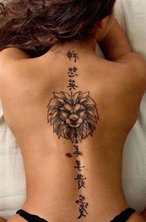 50 inspirational spine tattoo ideas for women with