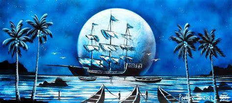 spray paint jimenez blue pirate ship porfiriojimenez me