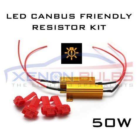 led and resistors 50w 6ohm led canbus free load resistor kit