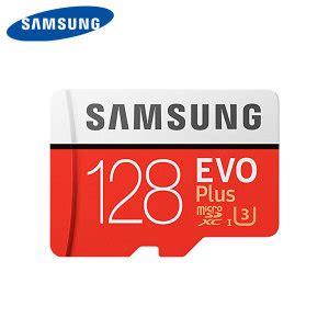 samsung evo plus 128gb microsdxc card class 10 with adapter